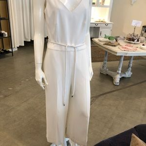 White jumpsuit from Trina Turk.